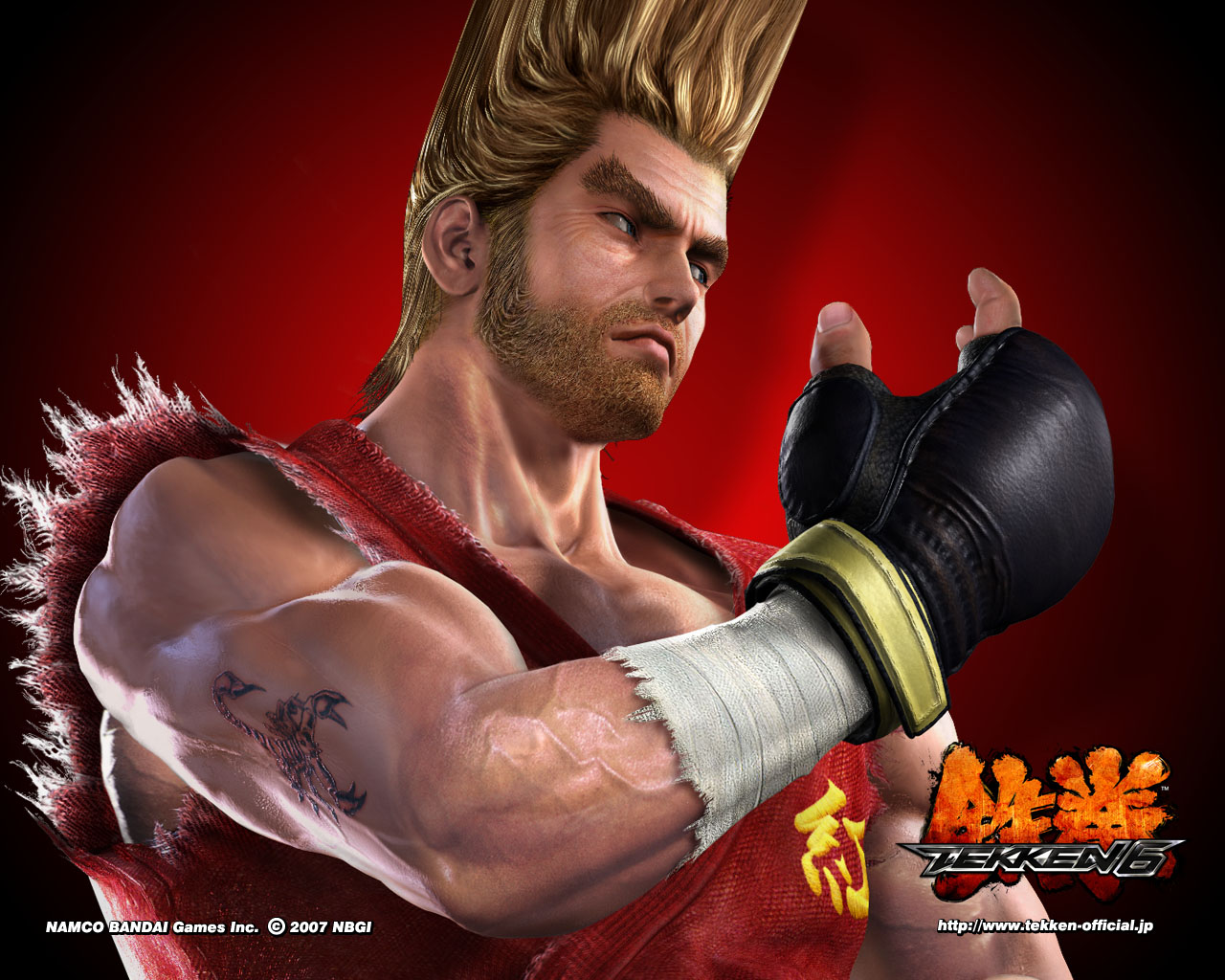 Paul Tekken Wallpaper 24408914 Fanpop