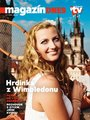 Petra Kvitova Looking Sexy on the Cover of Magazin - petra-kvitova screencap