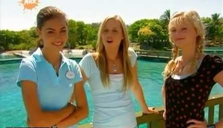 Phoebe, Claire and Cariba