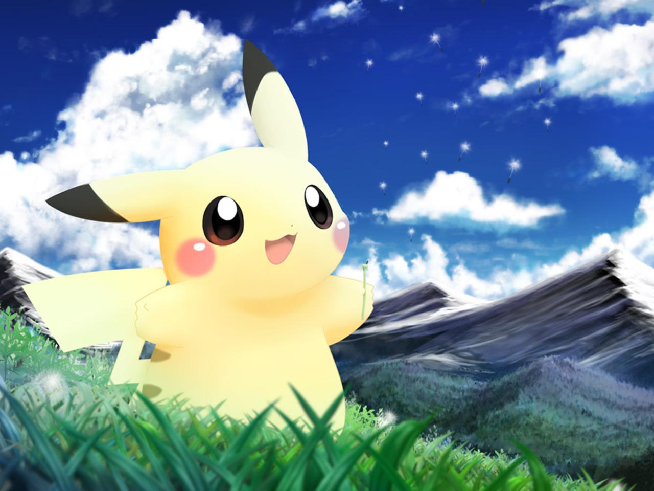 Pikachu Hintergrund
