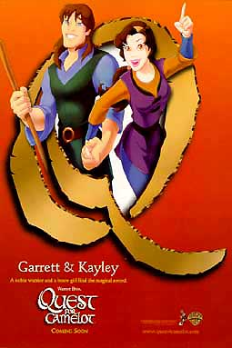 QUEST FOR CAMELOT POSTER