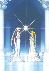 queen Serenity and Serenity