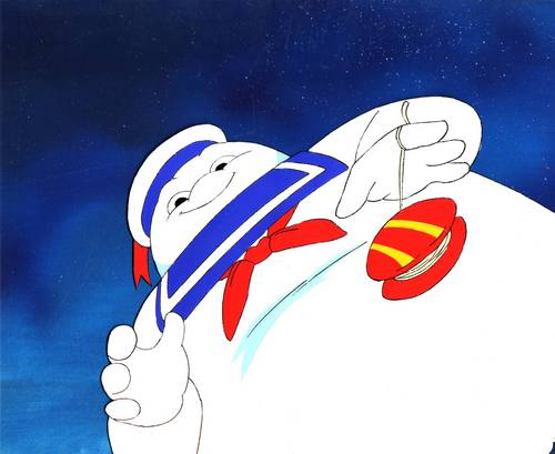 Real Ghostbusters اندازی حرکت Production Cel