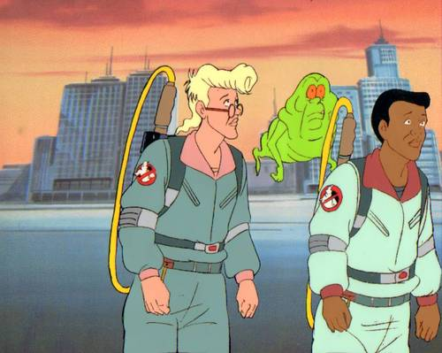 Real Ghostbusters animazione Production Cel