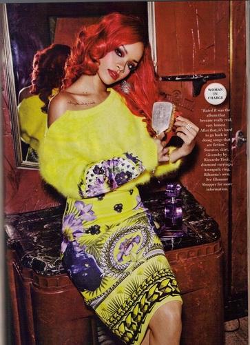 蕾哈娜 - Glamour Magazine - September 2011