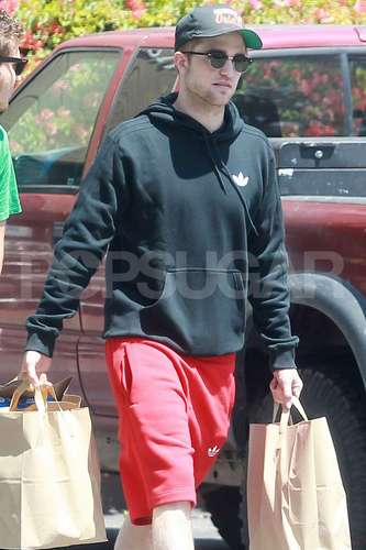 Rob out in LA (August 9)