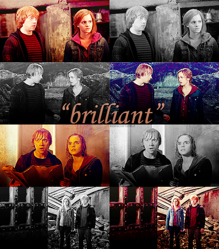 Romione wallpaper called Ron & Hermione