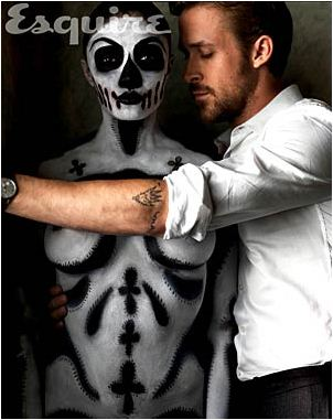 Ryan papera, gosling Esquire photoshoot