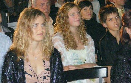Safarova,Kvitova and Vesely in 2007