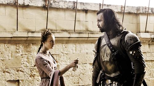Sansa Stark and Sandor Clegane