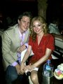 Sarah Miller: makan malam with my lovely husband on our two tahun anniversary!