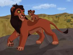 The Lion King wallpaper called Scar & Kovu