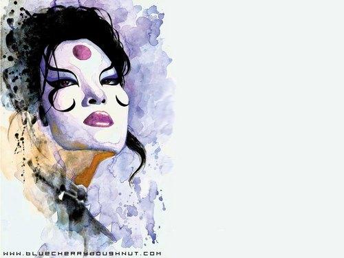 """Scarab, from """"Kabuki"""" Von David Mack"""