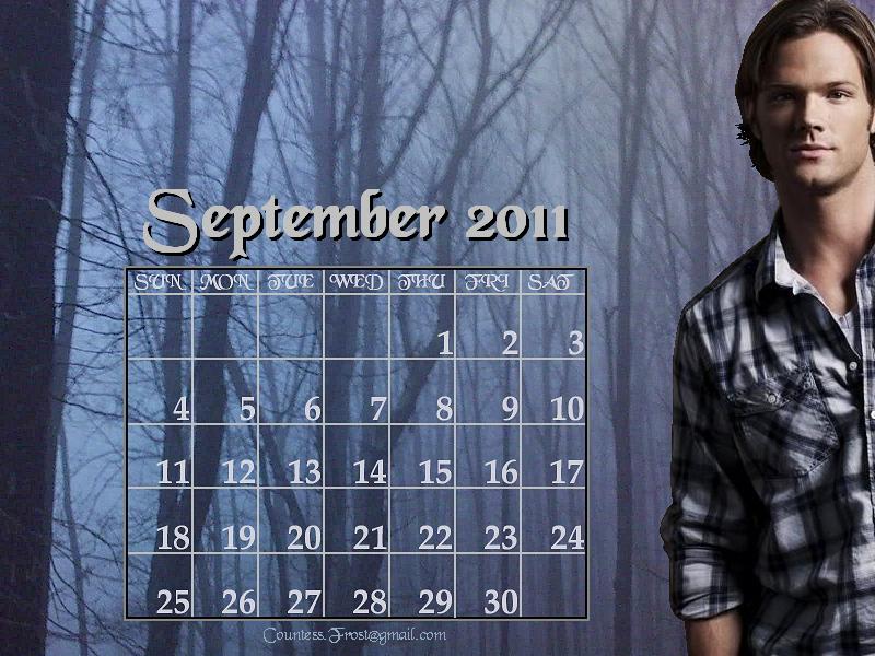 September 2011 - Sam