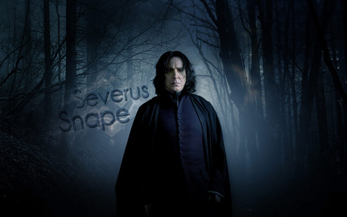 Severus Snape Hintergrund possibly containing a mantel and a capote entitled Severus