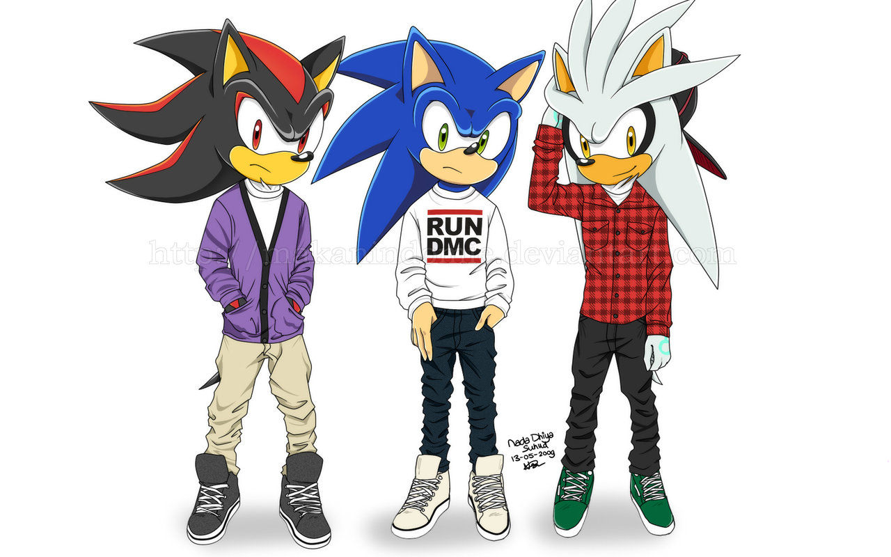 Shadow, Silver, and Sonic- Fashion