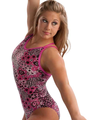 Shawn Fancy Back Floral Leo - shawn-johnson photo