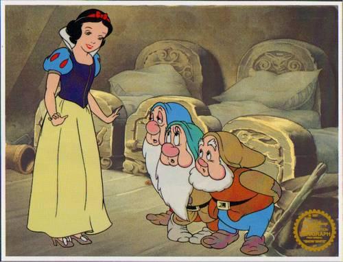 Snow White Sericel Cel