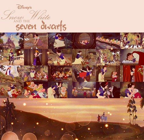 《白雪公主与七个小矮人》