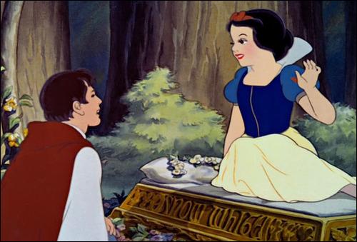 Walt Дисней Screencaps - The Prince & Princess Snow White