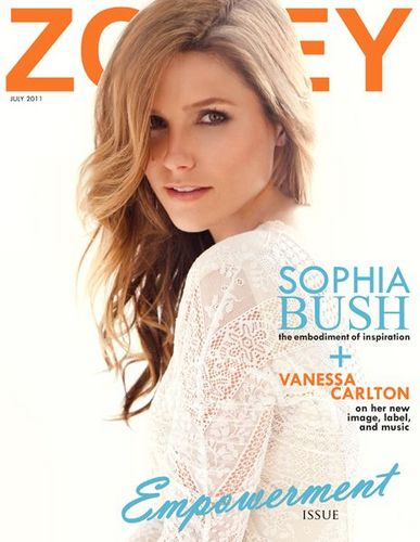 Sophia - Magazines - Zooey (July) 2011