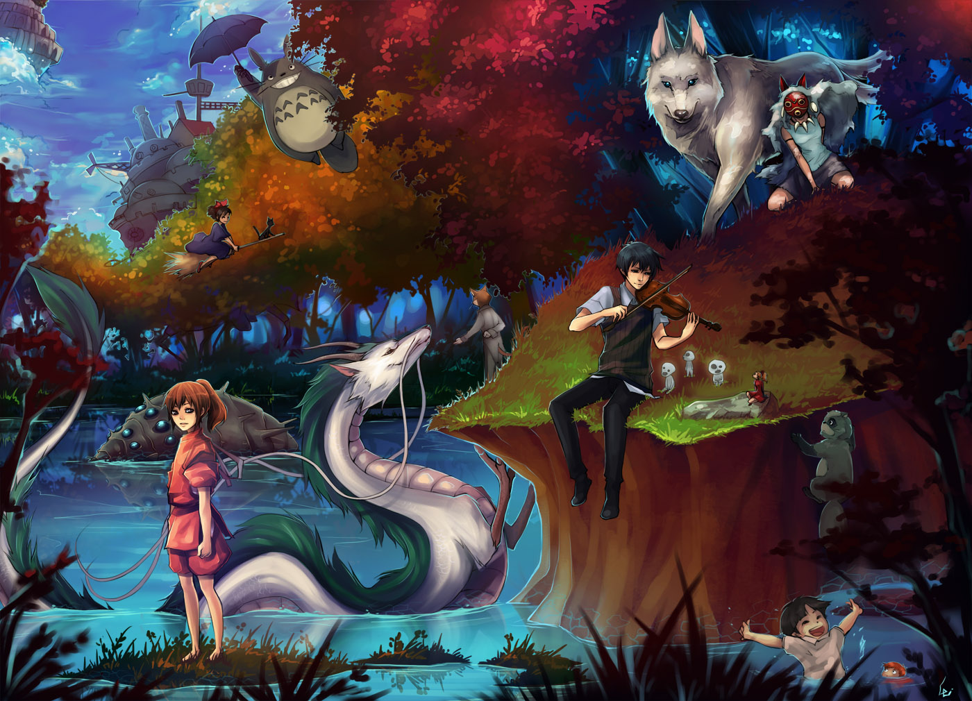 Spirited Away - Anything Anime In Our World!!! Photo ...