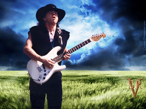 Stevie Ray Vaughan - music Wallpaper