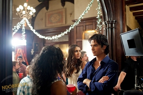 TVD Behind the Scenes of Season 3!