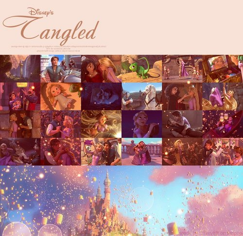 Disney Princess wallpaper titled Tangled