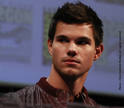 Taylor Lautner at Comic Con
