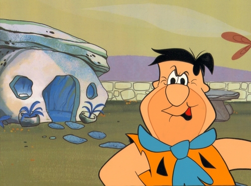 The Flintstones Production Cel