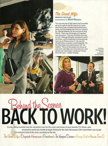 The Good Wife Article-Behind the Scenes