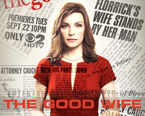 The Good Wife wallpaper probably containing a portrait called The Good Wife Wallpaper