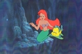 The Little Mermaid Production Cel