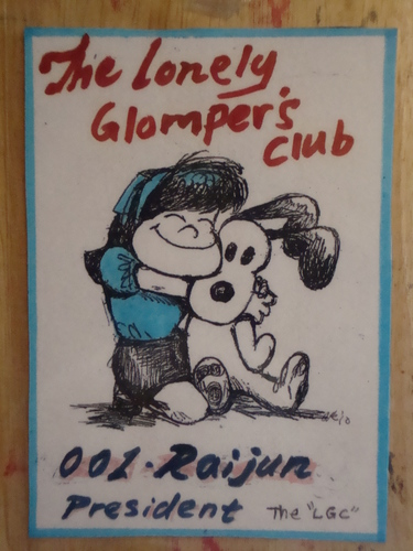 The Lonely Glompers Club Logo