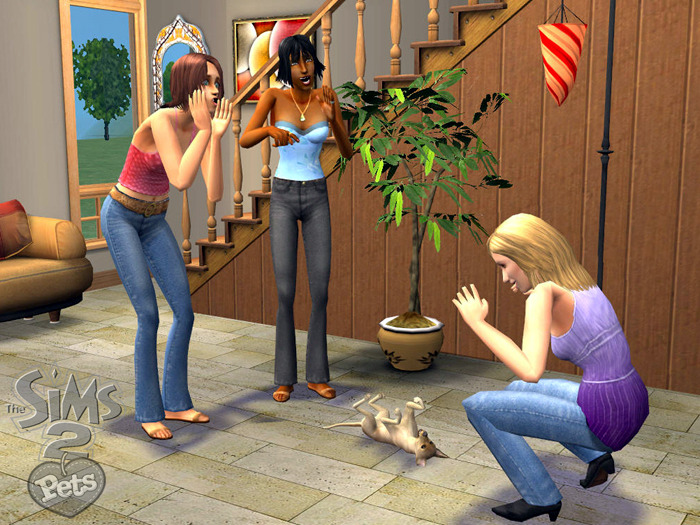 The Sims  Cats And Dogs Torrent Games  World