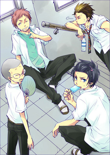 The boys of Ao no exorcist