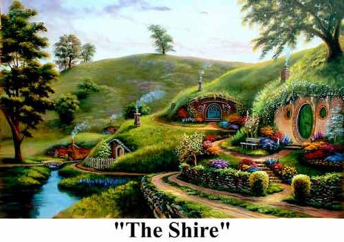 The shire - lord-of-the-rings Photo