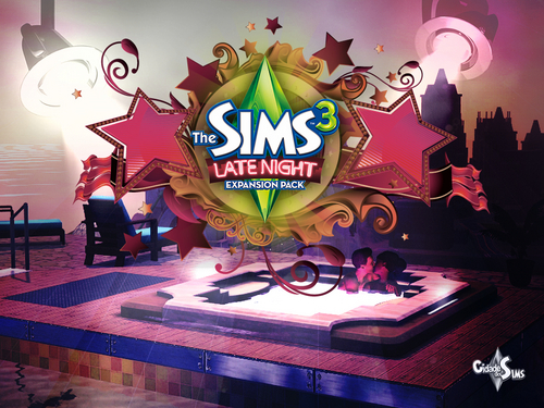 The sims 3 late night 壁紙