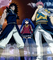 Three Dragon Slayers - fairy-tail screencap