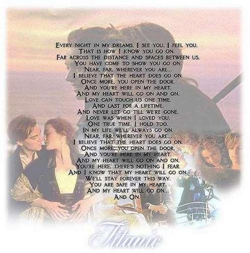Titanic | My cœur, coeur Will Go On