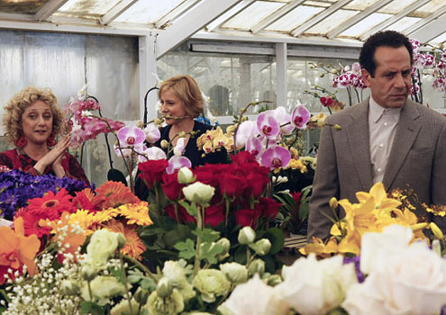 Tony Shalhoub wallpaper with a bouquet and a begonia titled Tony