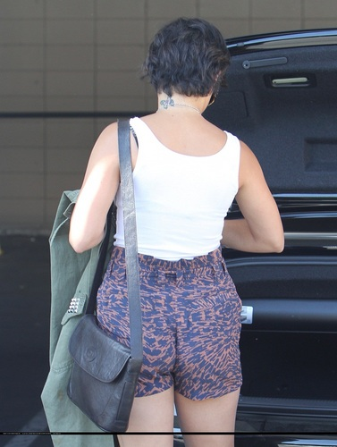 Vanessa - Shopping in Studio City with Stella - August 09, 2011