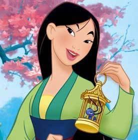 Walt Disney hình ảnh - Fa Mulan & Cri-kee