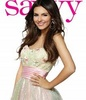 Victoria Justice تصویر entitled Victoria modelling for Savvy mag
