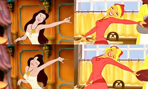 """Walt 迪士尼 Similarities - Vanessa & 夏洛特 """"Lottie"""" La Bouff"""