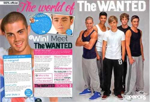 Wanted! (I Will ALWAYS Support TW No Matter What :) TOTP Mag!! 100% Real ♥ - the-wanted Photo