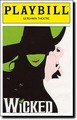 Wicked Playbill - wicked photo