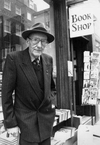 William S. Burroughs in London, 1989