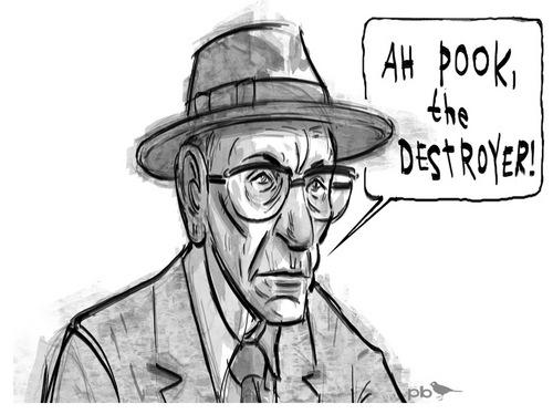 William S. Burroughs sejak Paul Briggs